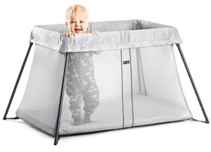 Baby Bjorn Travel Crib Light Silver